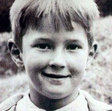 Eric Clapton niño joven