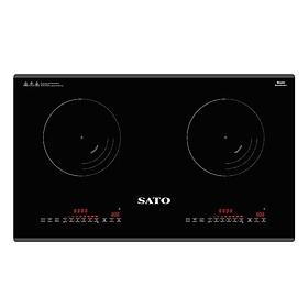 Bếp từ đôi Sato SIH378 N2.0