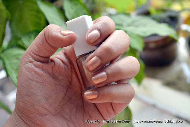 ELF Nail Polish Nude Swatch