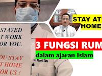 Stay at Home! antisipasi virus corona inilah tiga fungsi rumah dalam ajaran Islam