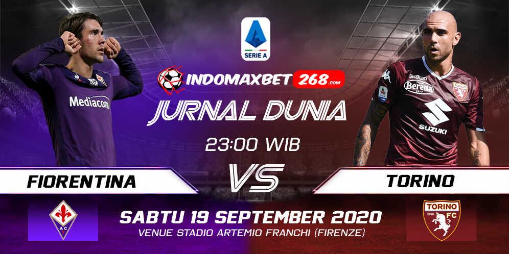 Prediksi Fiorentina Vs Torino 19 September 2020 Pukul 23.00 WIB
