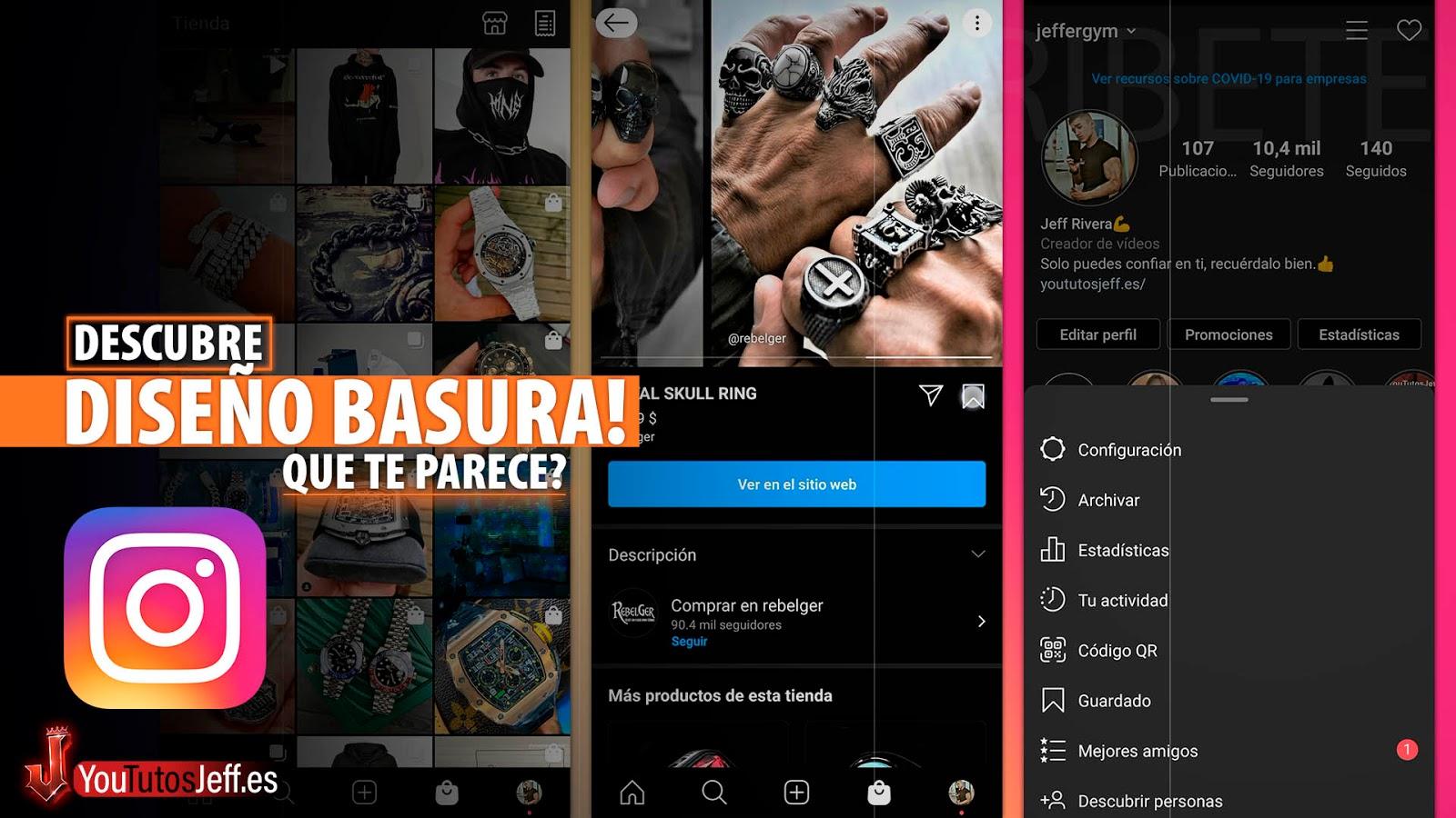 El Nuevo Diseño de Instagram es Pura BASURA