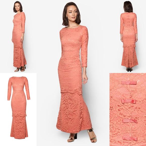 Baju Raya 2016 Baju Kurung Moden Lace Fesyen Terkini