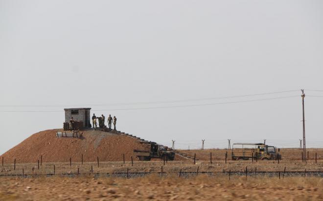 """""""تحضيرات عسكرية تركية لغزو درباسية """" مراسلنا يتابع التطورات على الارض"""