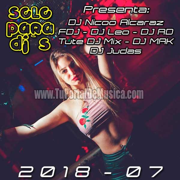 Edicion Retro Solo Para Djs Vol. 7 (2018)