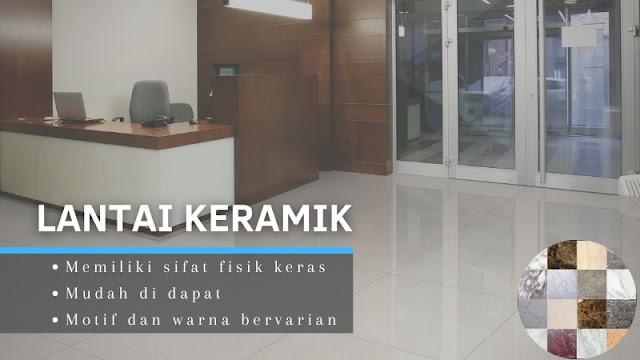 Jenis lantai berkualitas baik untuk kantor