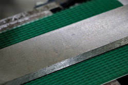 Metal bar raw material without surface finishing
