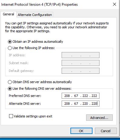 cara mempercepat koneksi wifi dengan konfigurasi dns