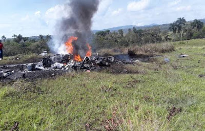 Cae helicóptero en la comunidad de Muñoz, Puerto Plata;confirman tres muertos