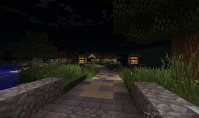 minecraft hobbiton build green dragon