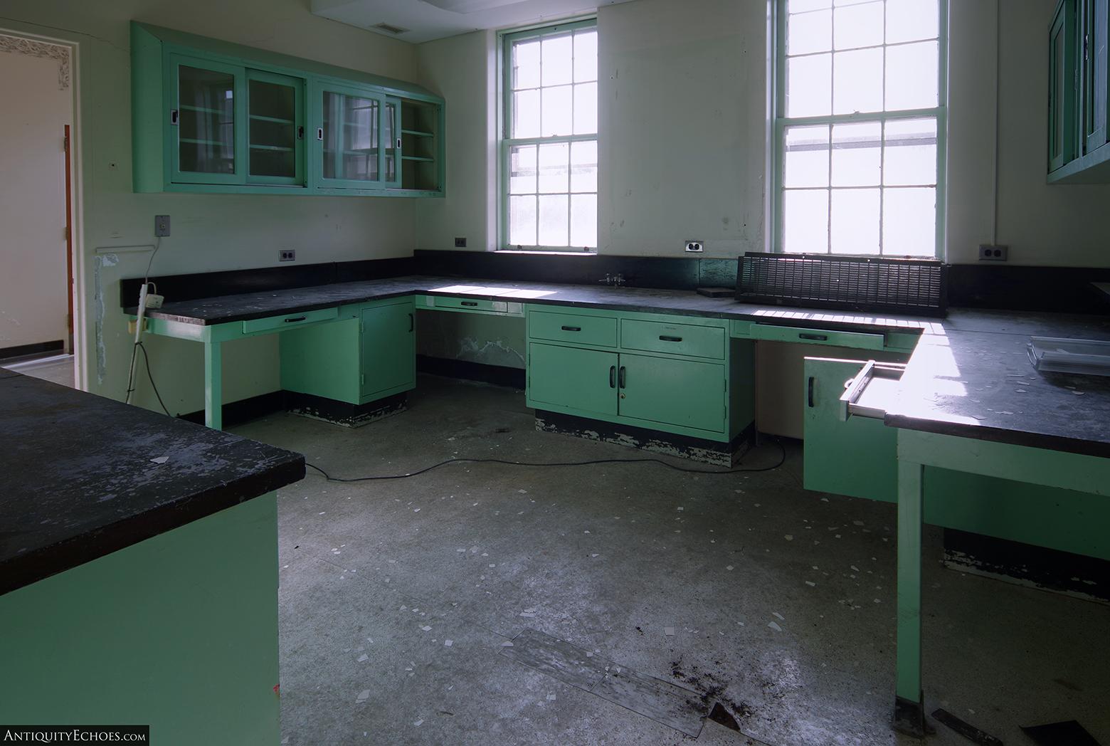 Allentown State Hospital - Medical Building