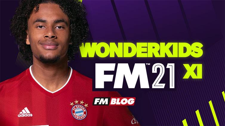 Football Manager 2021 Best Wonderkids XI