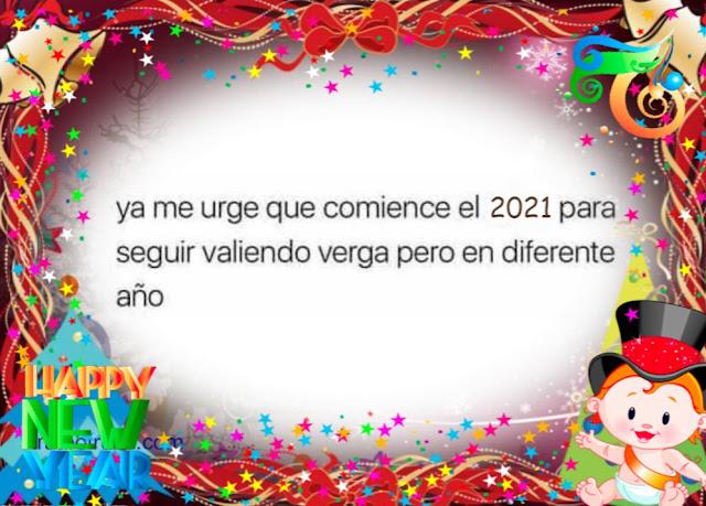 ya me urge que comience el 2021
