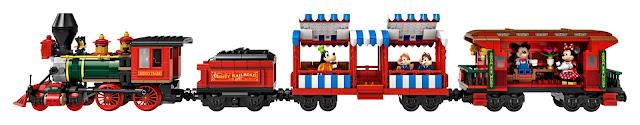 LEGO 71044 Disney Train and Station locomotive 迪士尼火車與車站