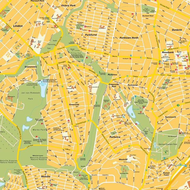 Joanesburgo map