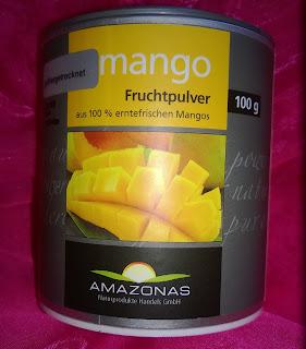 Verpackung von Mango Fruchtpulver