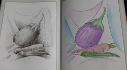 pencil shading pencils drawings simple shade very colours stage paper eraser 2nd