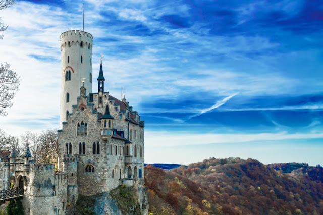 Lichtenstein Castle, Baden-Württemberg, Jerman