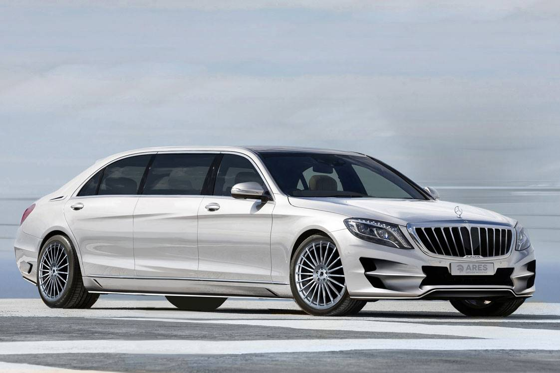 Mercedes benz v222 s class pullman by ares design benztuning for Mercedes benz pullman