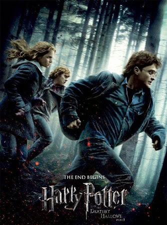 Poster Of Harry Potter and the Deathly Hallows Part 1 2010 In Hindi Bluray 1080P HEVC Free Download