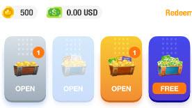 صناديق كنوز تطبيق Clapcoins