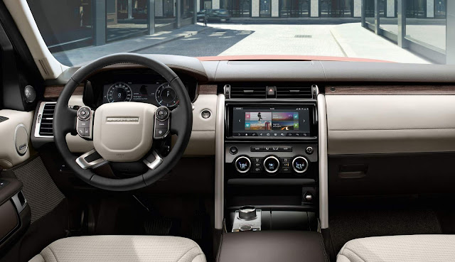 Land Rover Discovery 2018 - interior