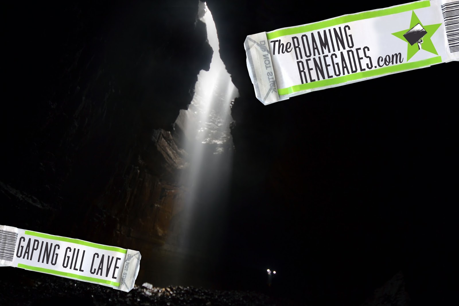 CAVING: Exploring the magnificent GAPING GILL