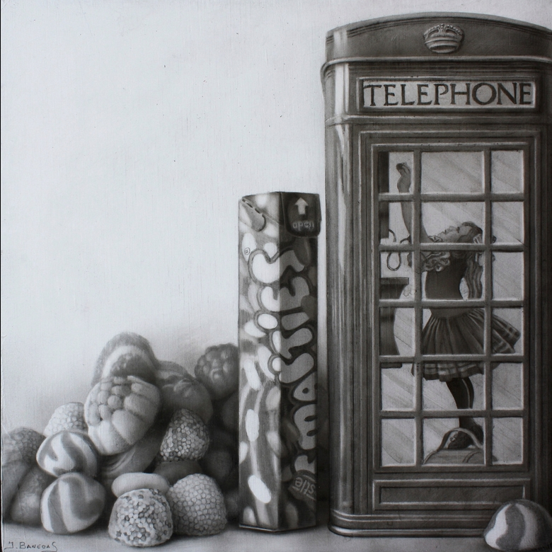 12-Sweets-Javier-Banegas-Black-and-White-Realistic-Mixed-Media-Drawings-www-designstack-co