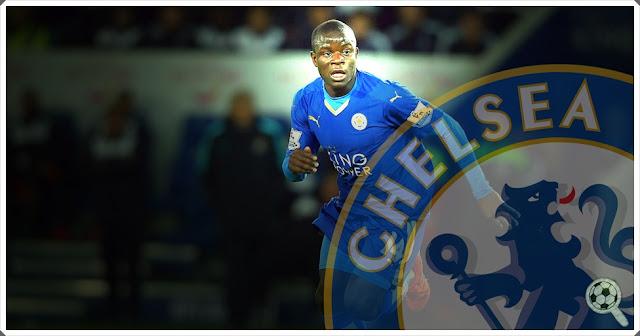 N'Golo Kanté Chelsea 2016-17