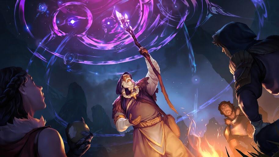 Mountain Scryer, Targon, Legends of Runeterra, 4K, #5.2734