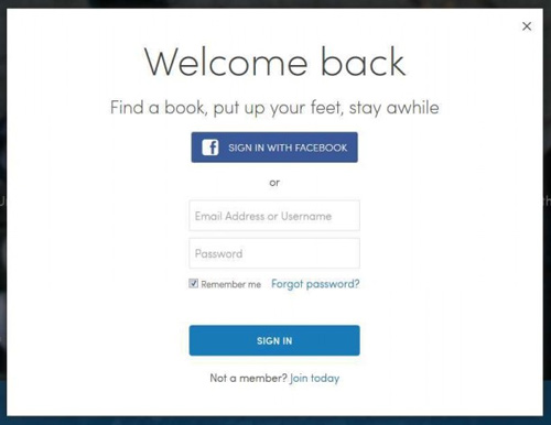 تسجيل الدخول إلى Facebook إلى Scribd