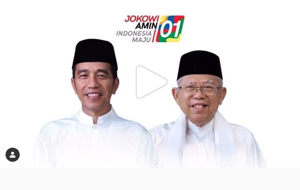 Tim Pemenangan Jokowi-Amin di Sumsel Resmi Dirombak