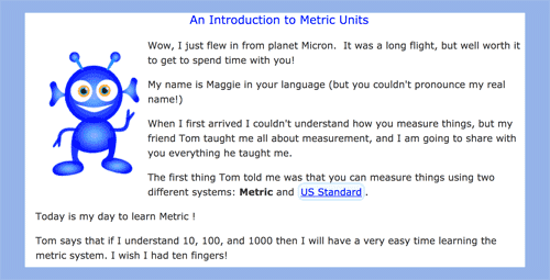 Introduction to the Metric System Units