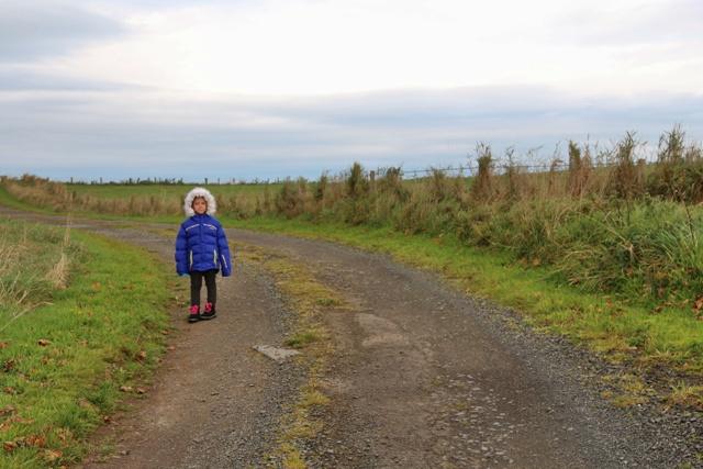 Caminos y carreteras preciosas de Irlanda del Norte