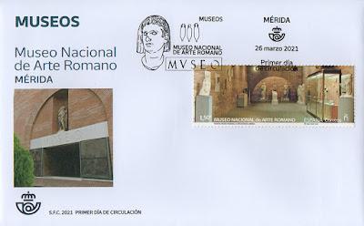 sobre, PDC, sello, Museo, Mérida, arte romano