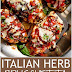 Low Carb | Italian Herb Bruschetta Chicken