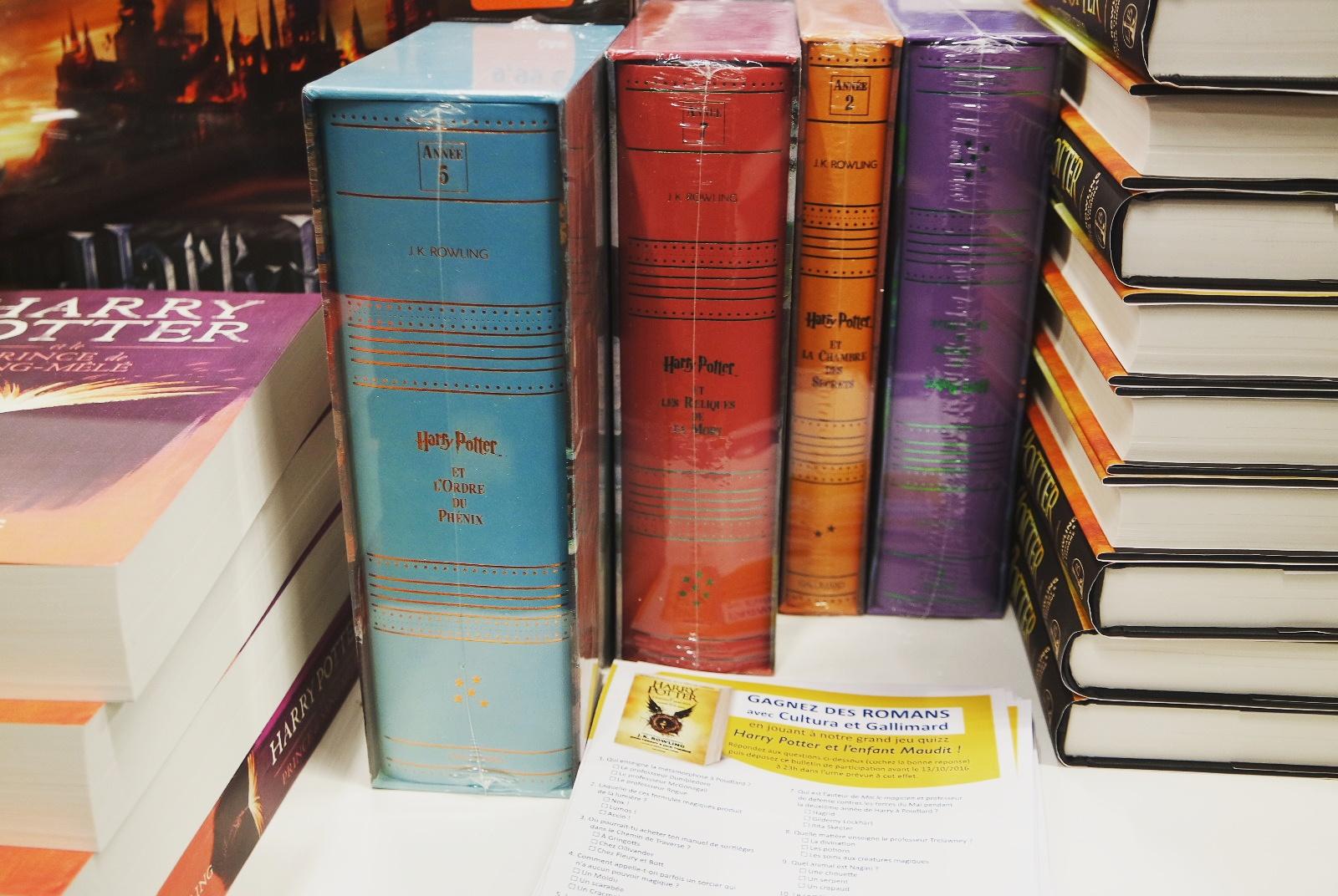 Harry Potter Look Event Cultura Blog Coin des licornes littéraire lifestyle Toulouse