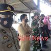 Kanit Binmas Polsek Marbo, Pimpin Pengamanan Pebagian BLT di Desa Cikoang