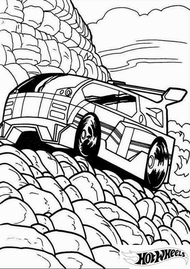 Hot Wheels Coloring Pages 29