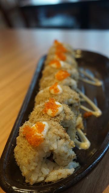 volcano roll ichiban sushi