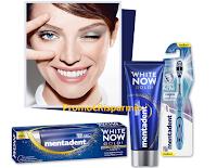 Logo Sorridi alla bellezza e vinci con White Now 60 Kit Mentadent White Now e  80 ingressi alla Beauty Masterclass