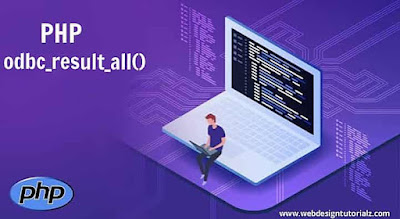PHP odbc_result_all() Function
