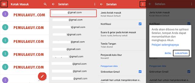 Cara Menghapus Akun Google Mail Di Android Lewat Aplikasi Gmail