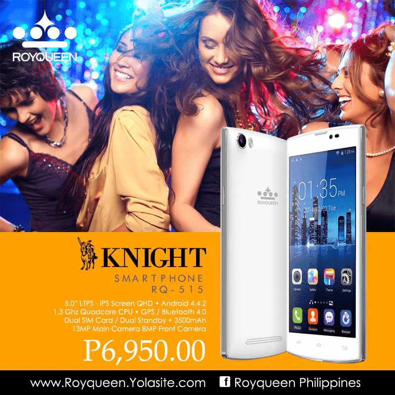 ROYQUEEN INTRODUCED 3 NEW SMARTPHONES: KNIGHT, BISHOP AND ROOK!