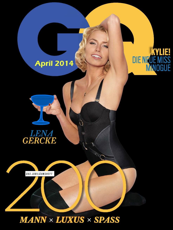Lena Gercke - GQ Magazine Germany April 2014 Slide 5