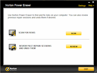 "Cleaning tool forcibly ""Norton Power Eraser"""