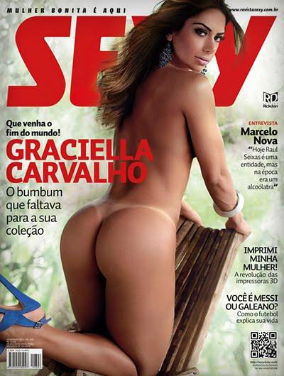 baixar  Graciella Carvalho (Scans) - Revista Sexy - Dezembro 2012 download