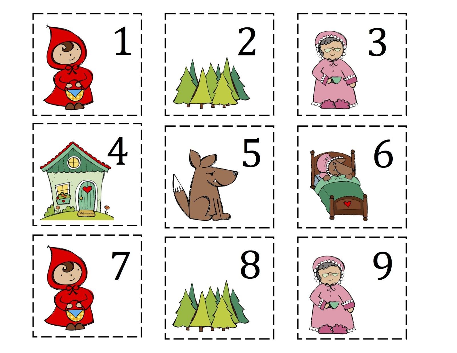 Little Red Riding Hood Printable Preschool Printables