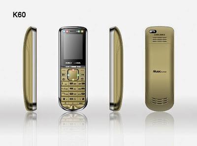Các mặt điện thoại Nokia K60