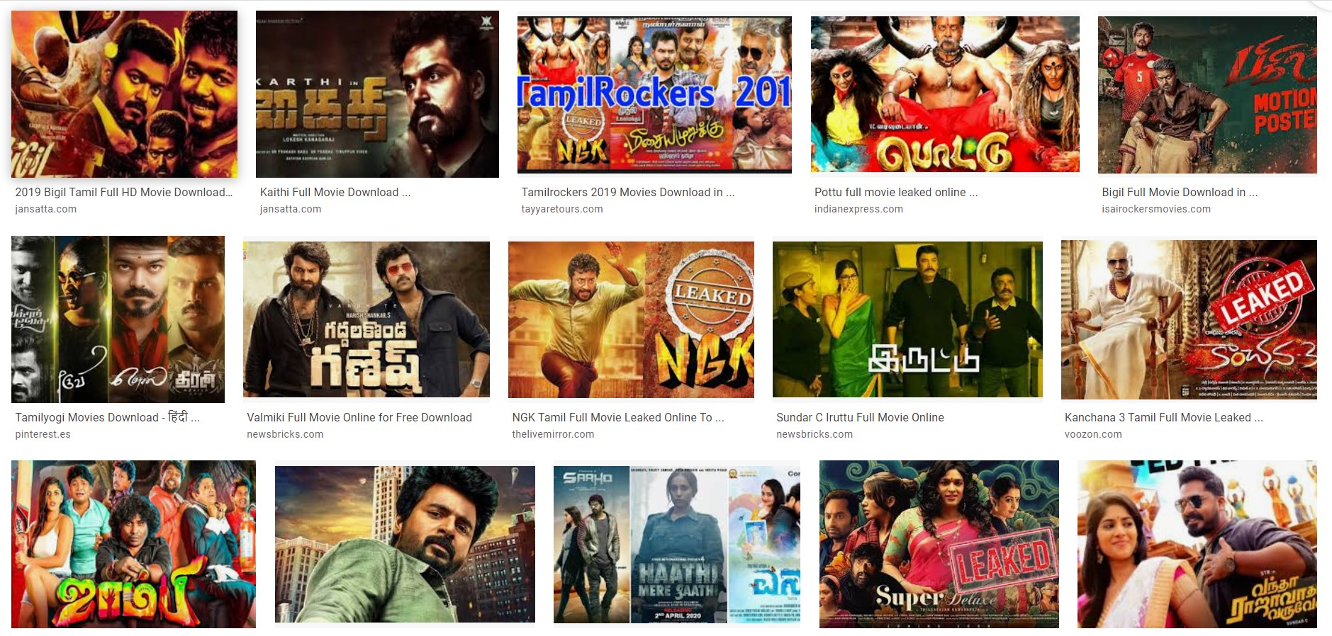 Tamilrockers 2019 Tamil movies download